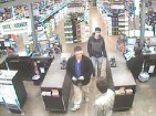 Police are searching for these two men.